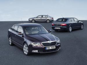 2009 Skoda Superb Options